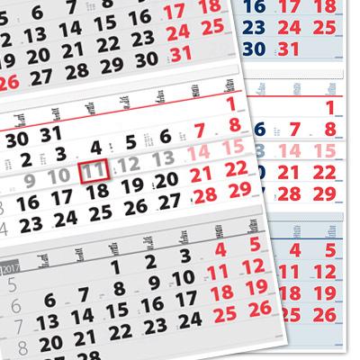 3 and 4-month calendar Ellite