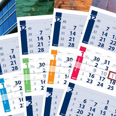 3 month calendar Lite