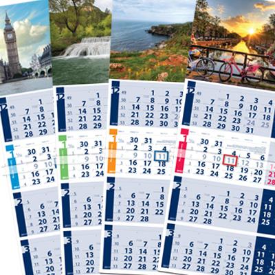 4 month calendar Lite.
