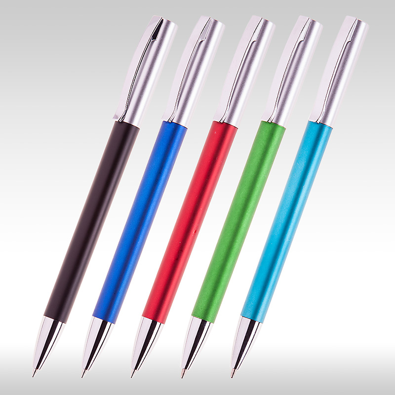 химикалка сребърен връх