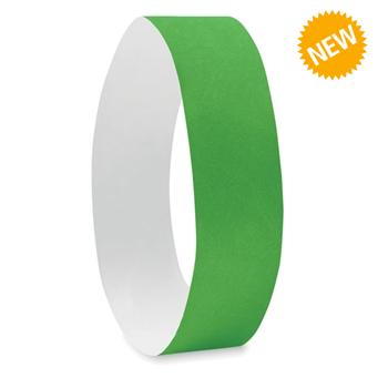 Зелени хартиени гривни Tyvek