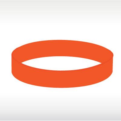 Оранжеви силиконови гривни