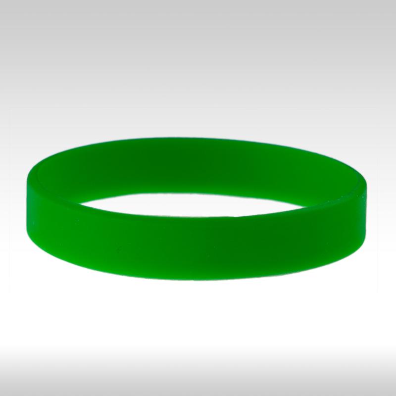 силиконови гривни зелени