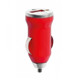 HIKAL - USB Car Charger - Red