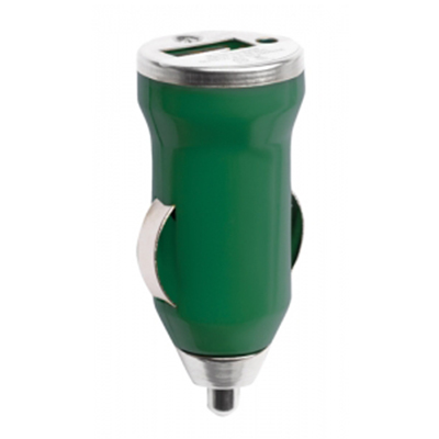 HIKAL - USB Car Charger - Green