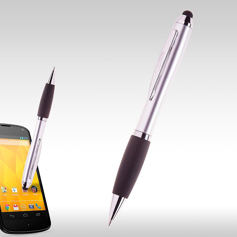 Химикалка ipen Сребристо/черно 91229